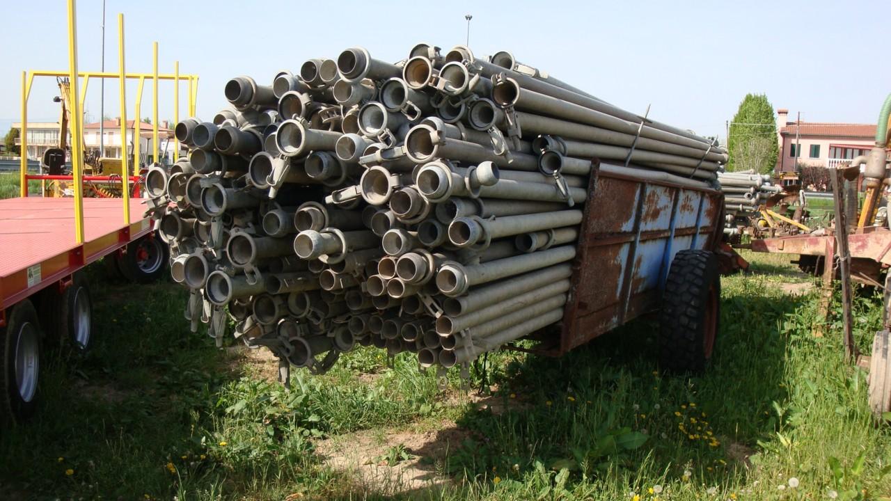 Tubi In Ferro Zincato Usati.Tubi X Irrigazione